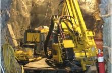 Drill Rig Underground